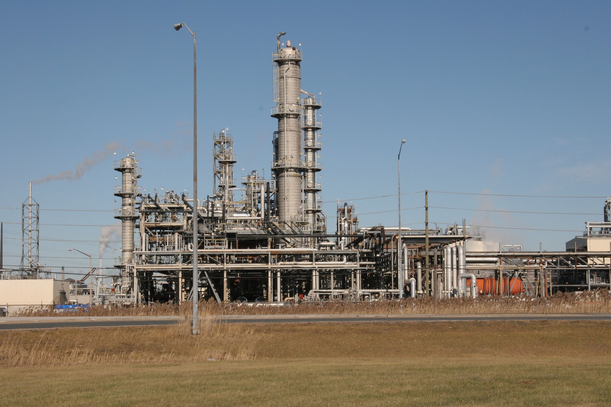 a petrochemical plant in Sarnia, Ontario
