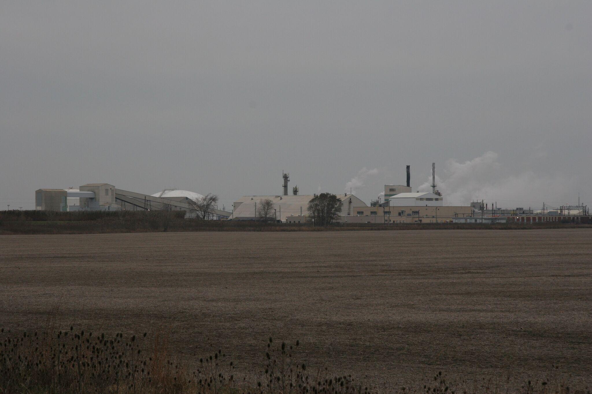 Chemical plant in Sarnia, Ontario