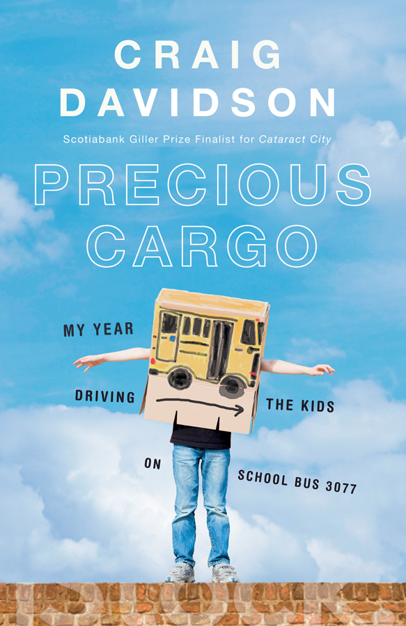 Book cover of Precious Cargo by Craig Davidson.
