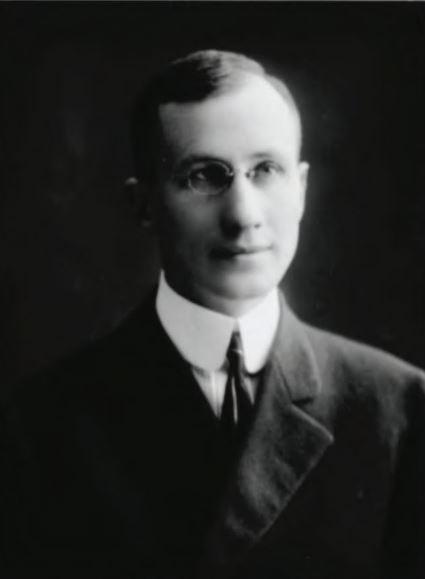 an archival photo of Eddie LIvingstone