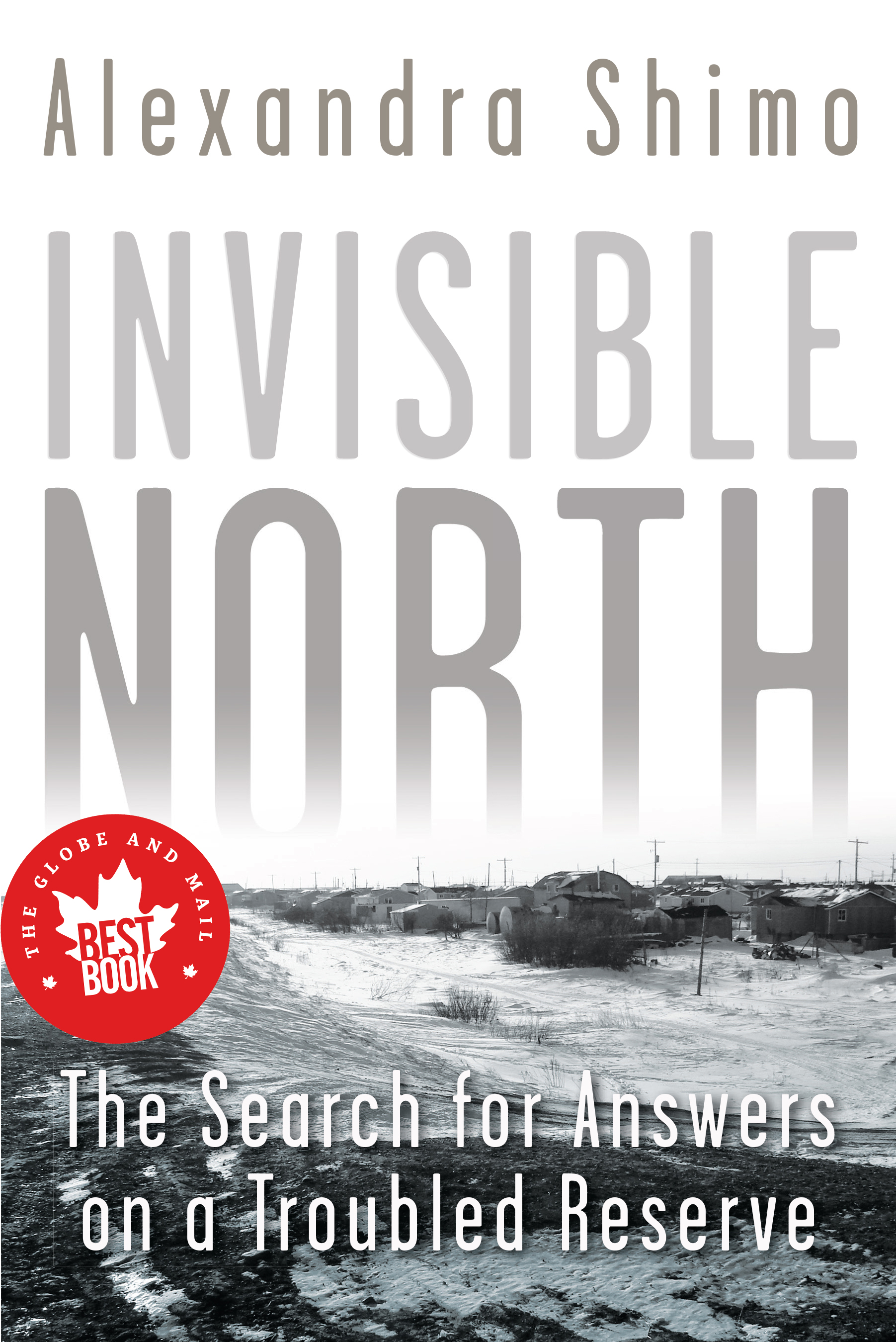 """cover of the book """"Invisible North"""""""