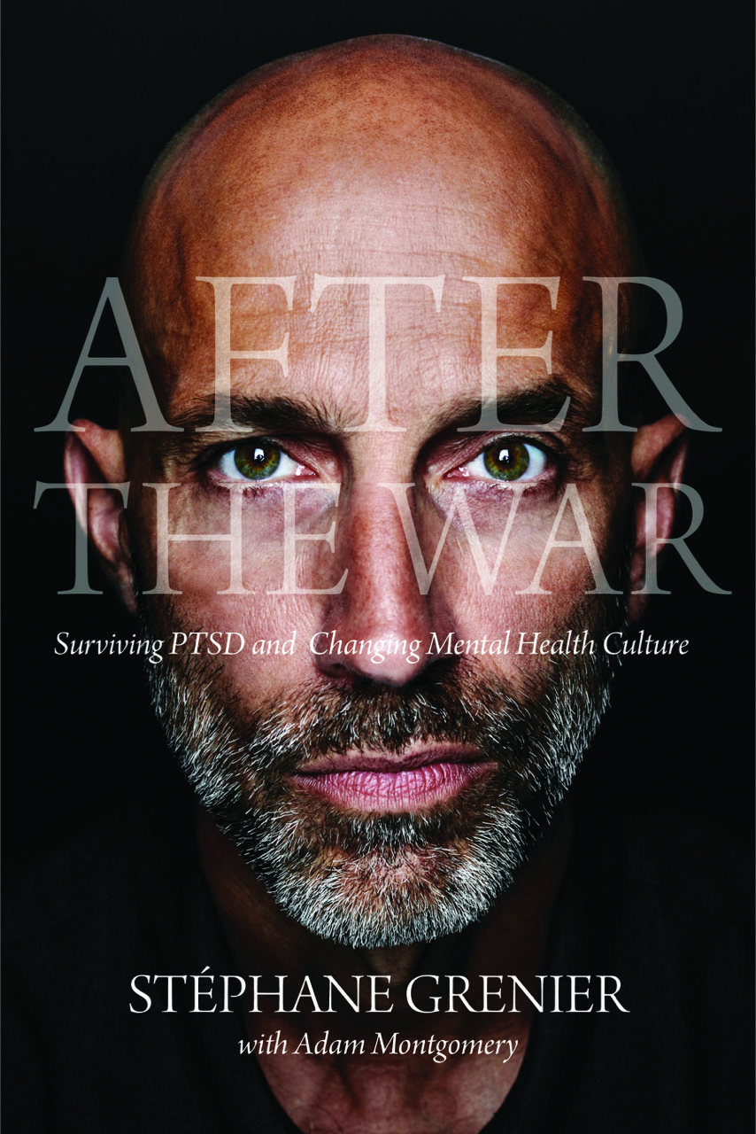 Cover photo for After the War, showing author Stephane Grenier.