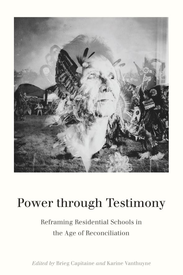 cover image for the book, Power Through Testimony showing a woman's face