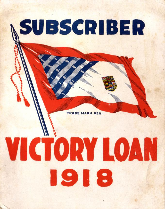 an ad for Victory Loans in 1918