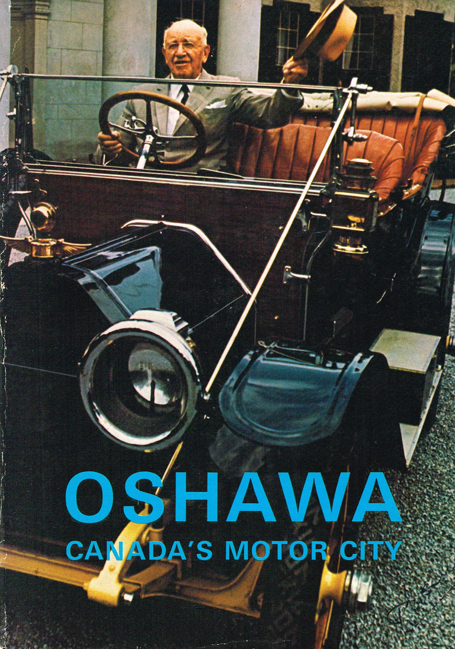 a Oshawa magazine cover showing Sam McLaughlin, original owner of GM in Oshawa