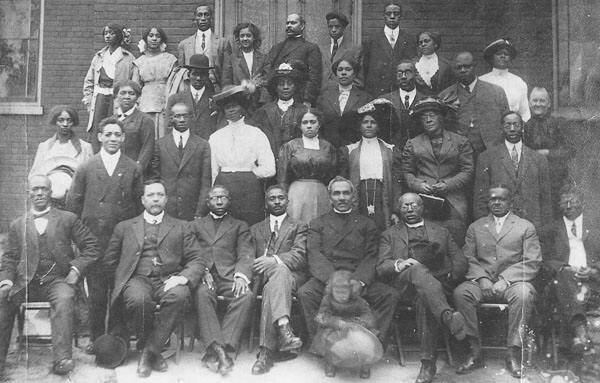 a group of early Black settlers to Ontario