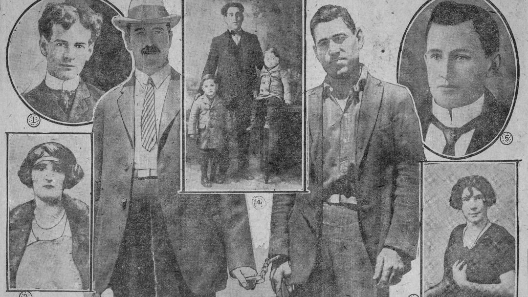 Toronto Daily Star archival photo from 1926 showing various men and women