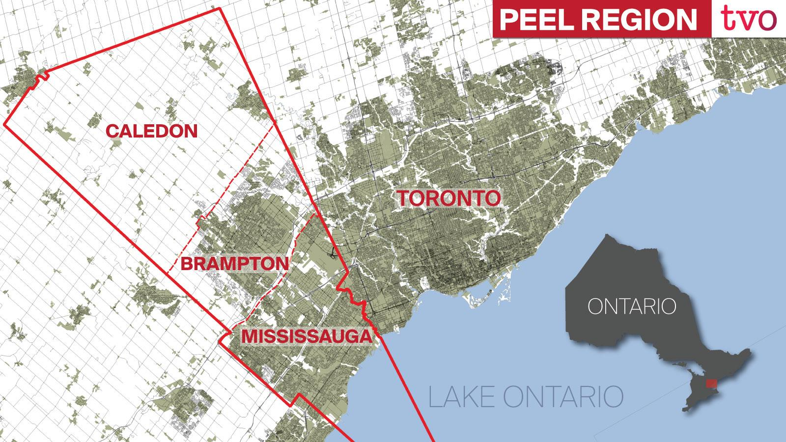 Why Peel Region S Largest City Wants Out Tvo Org