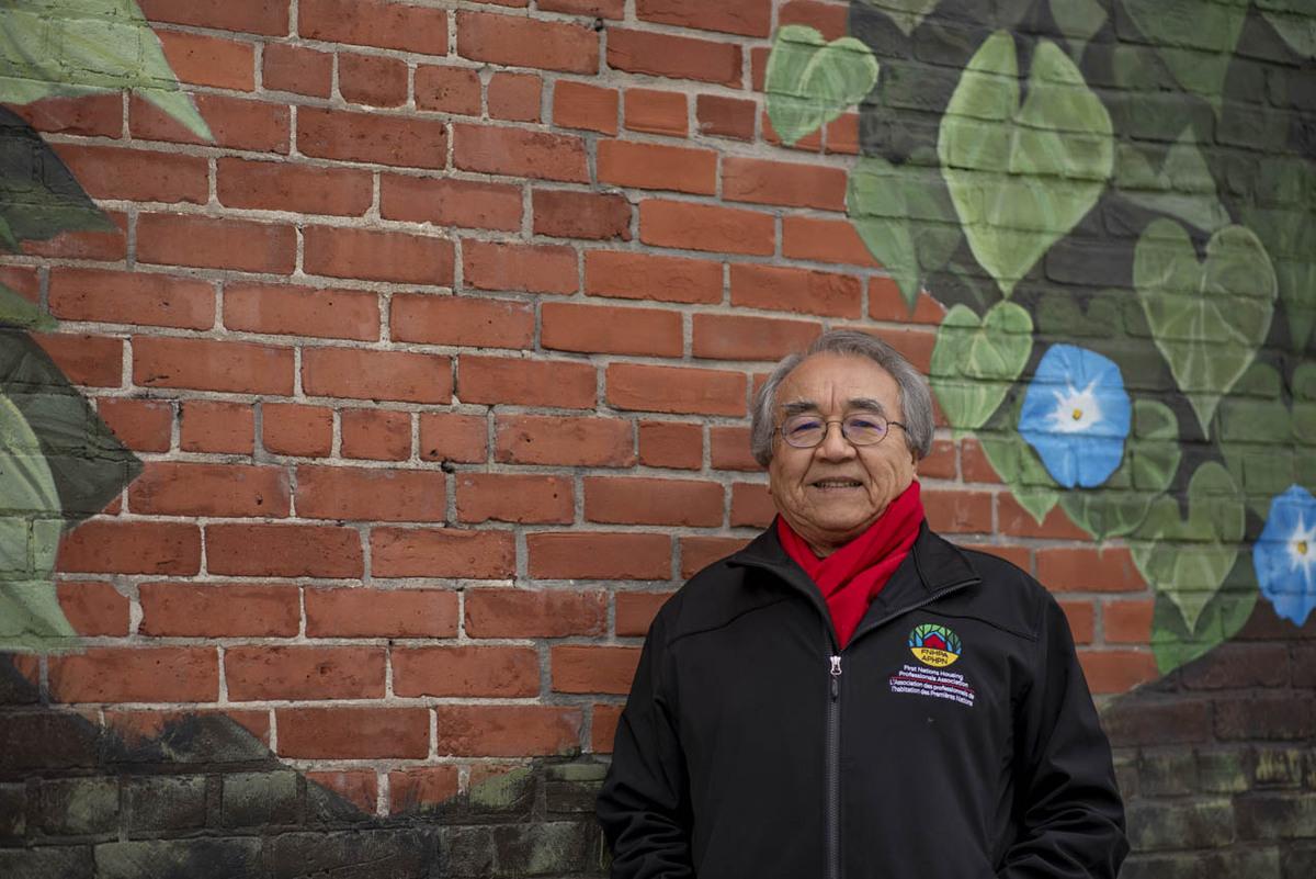 Waubageshig in Ottawa in January 2021