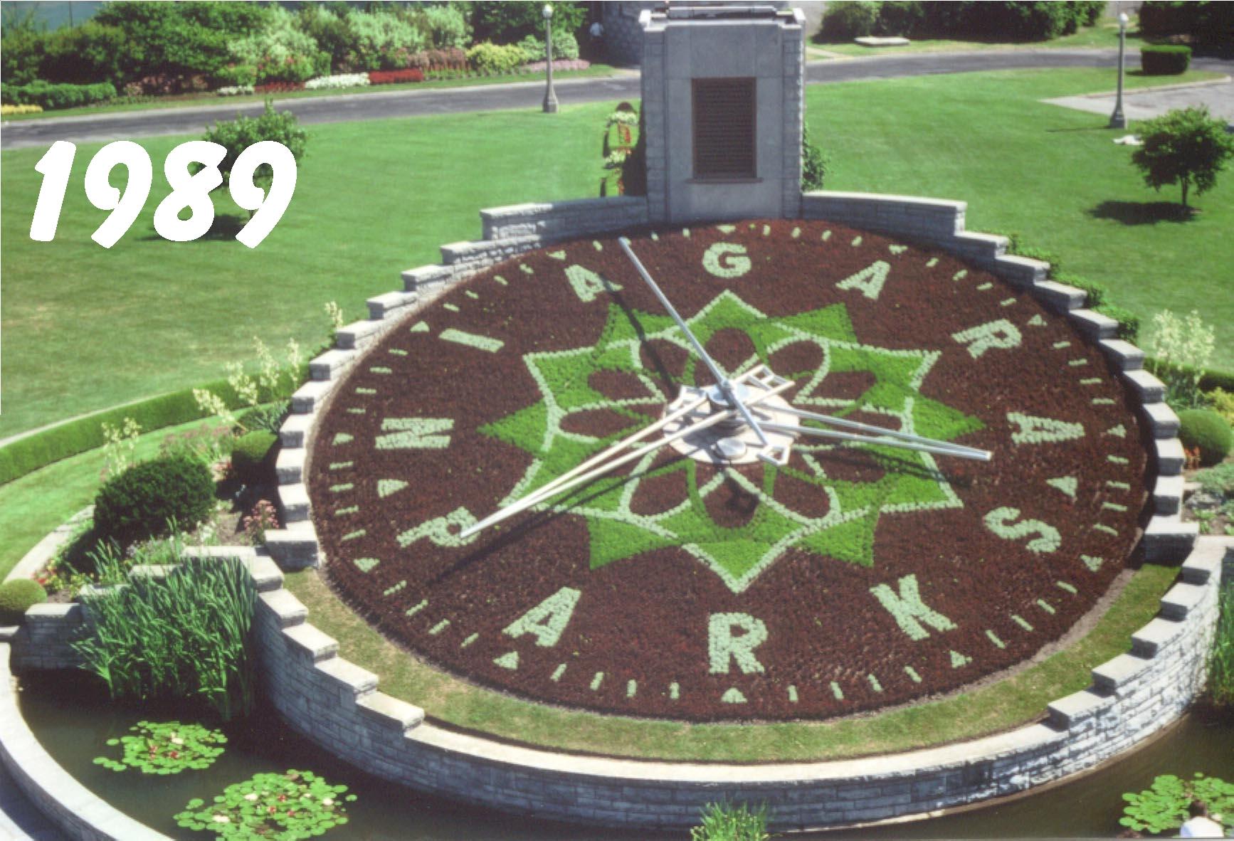 Floral Clock, 1989