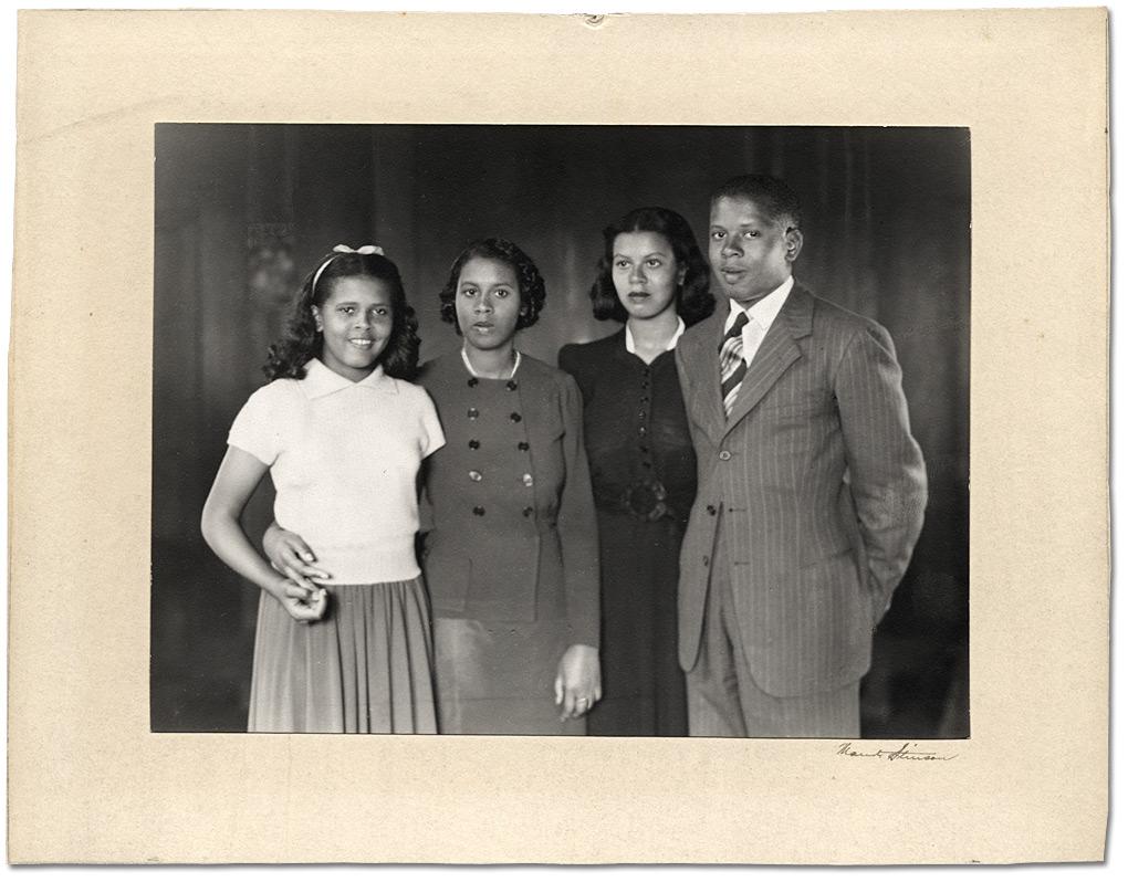 three girls and a boy