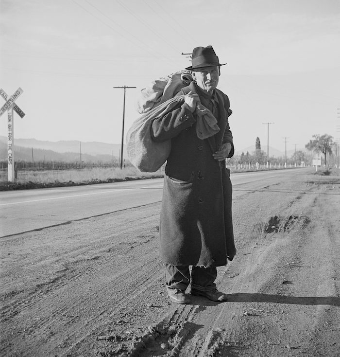 man with a bindle