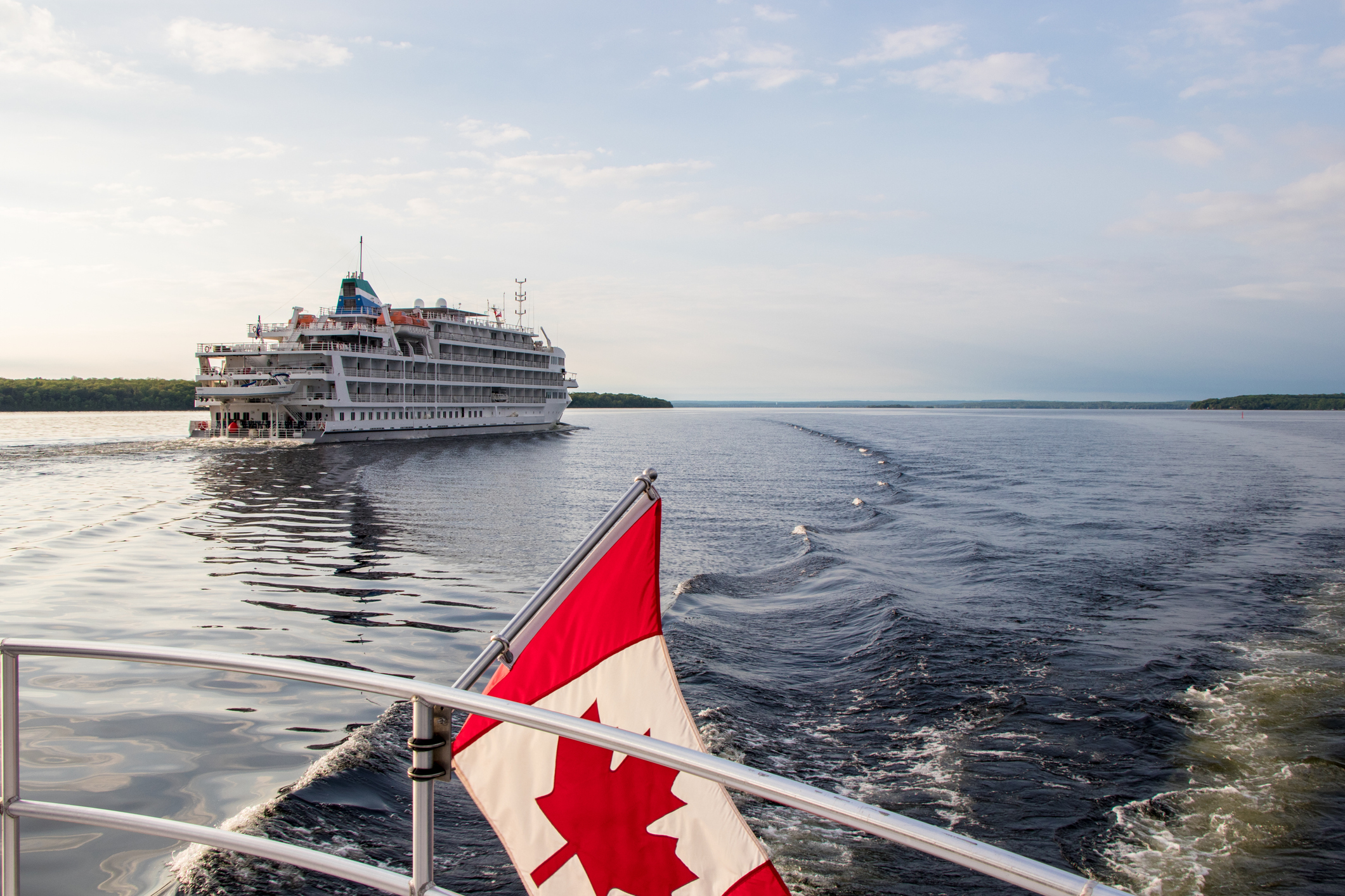cruise ship from the article Great Lakes cruise operators brace for a rough season thanks to COVID-19