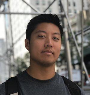 closeup of a young man
