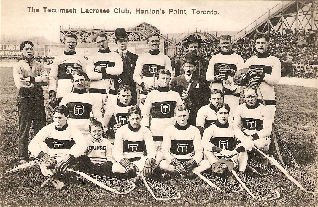 a team of lacrosse players