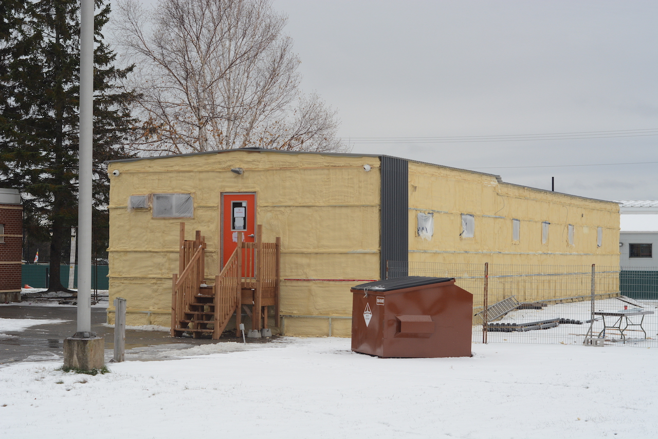 an insulated building