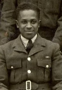 a young man in a military uniform