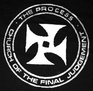 symbol on black background
