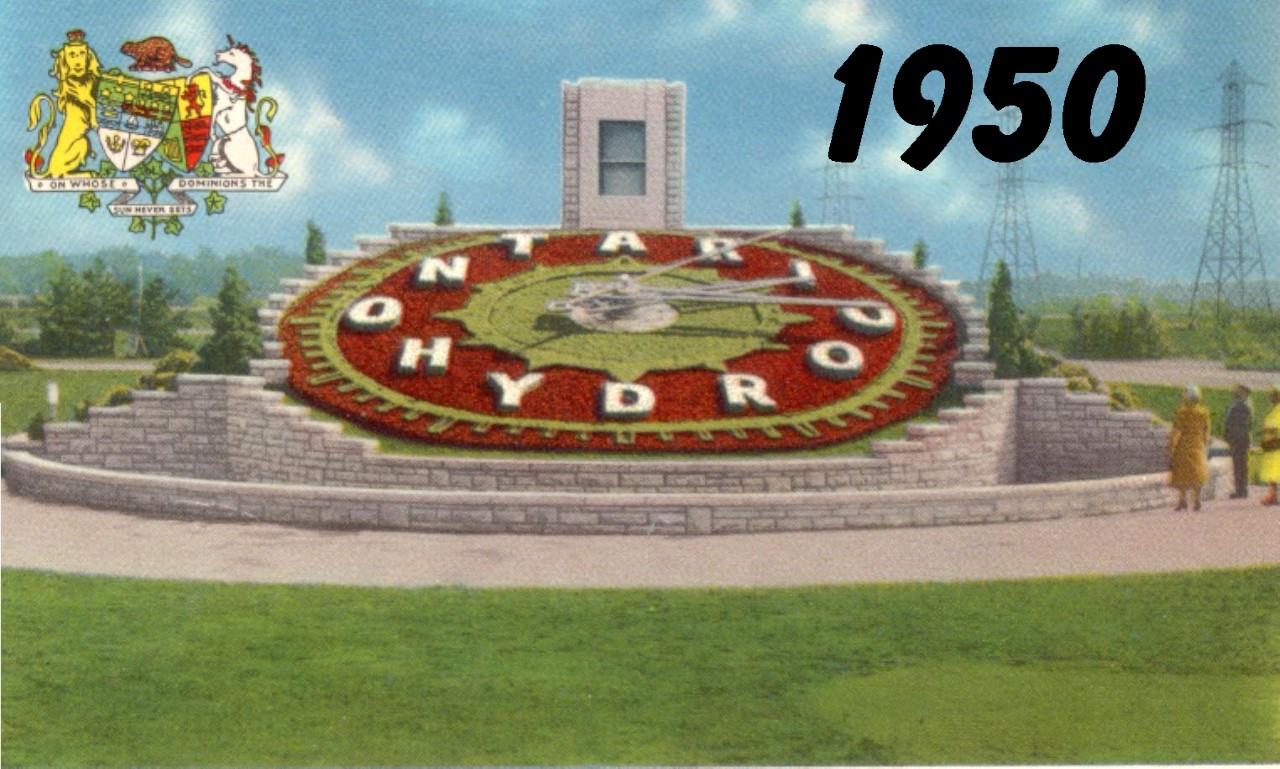 Floral Clock, 1950