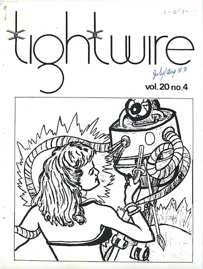 drawing of a woman fighting with a robot