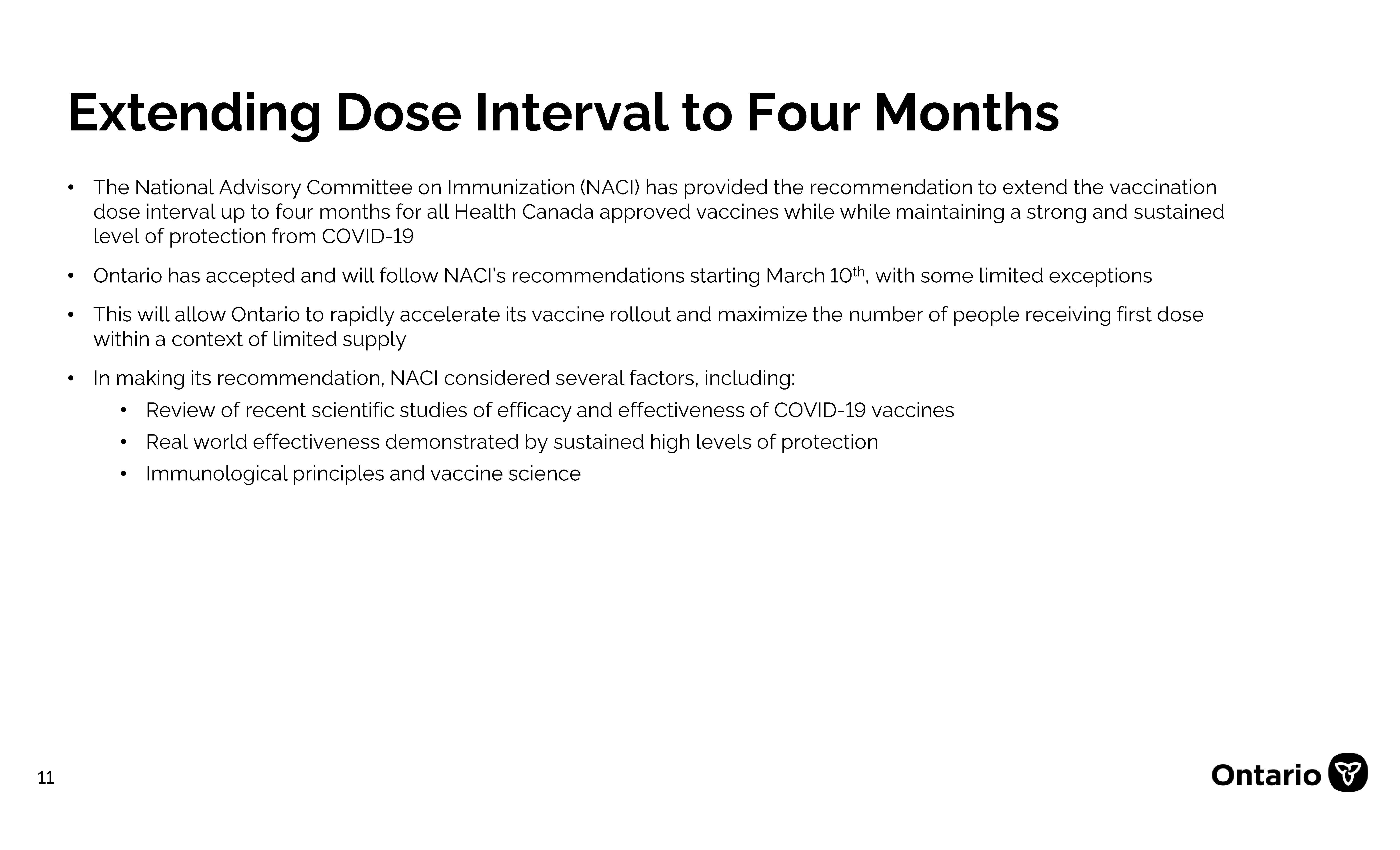 Vacc Update March 5