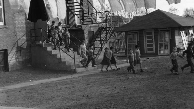 Children at the St. Joseph's Indian Residential School