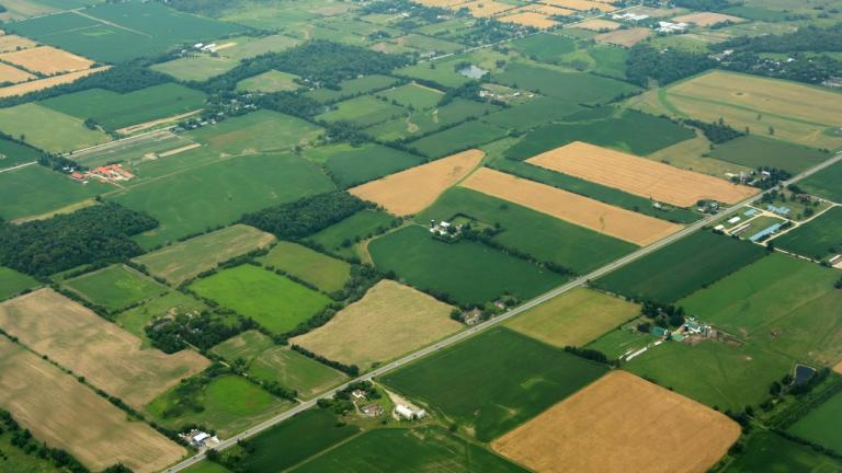 Ontario farmland
