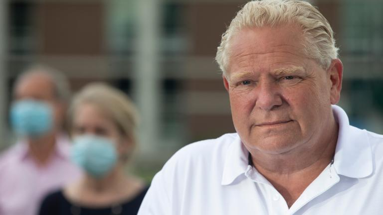 Doug Ford from the article Three big risks the Tories are taking in 2020
