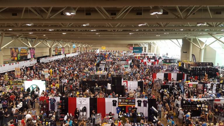 from the article 'Ground zero' for germs: How comic-book conventions are dealing with 'con crud'