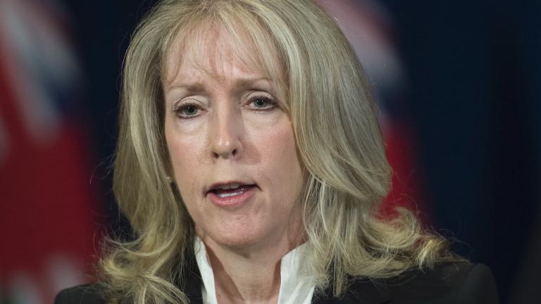 Merrilee Fullerton, Ontario's minister of long-term care