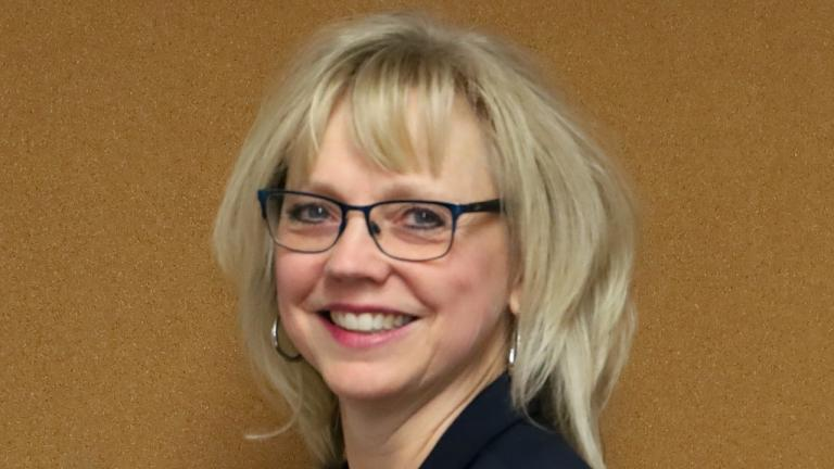 smiling blonde woman in glasses from the article Run this town: The struggle to recruit municipal staff in northern Ontario
