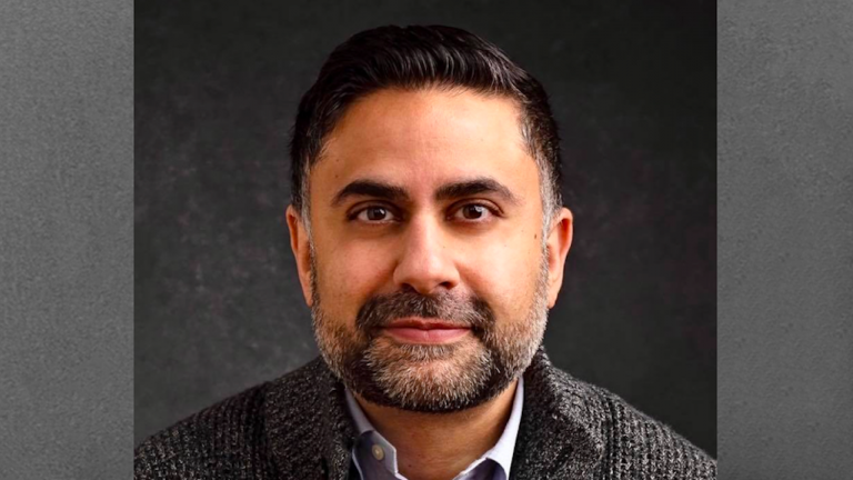 closeup of a bearded man from the article 'The human cost of silence is too great': Police-board chair Javeed Sukhera on Islamophobia and the London attack