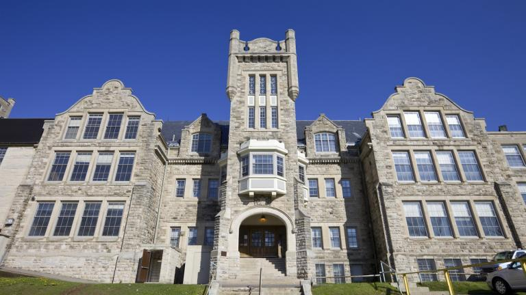 a historic Lakehead University building