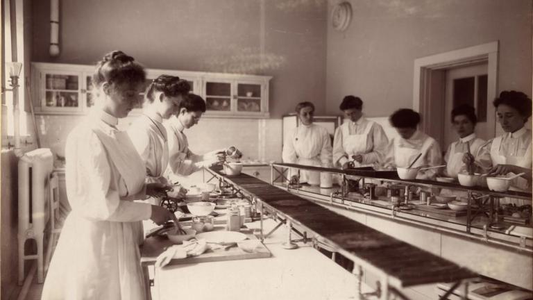 nurses from the article So-called women's work: Sexism in nursing goes way, way back