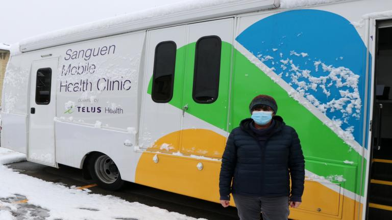 sanguen van from the article This clinic on wheels delivers health care to Waterloo's homeless population