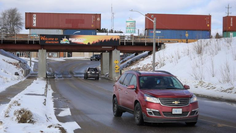 view of Sioux Lookout from the article Bracing for COVID-19 in a northern health-care hub