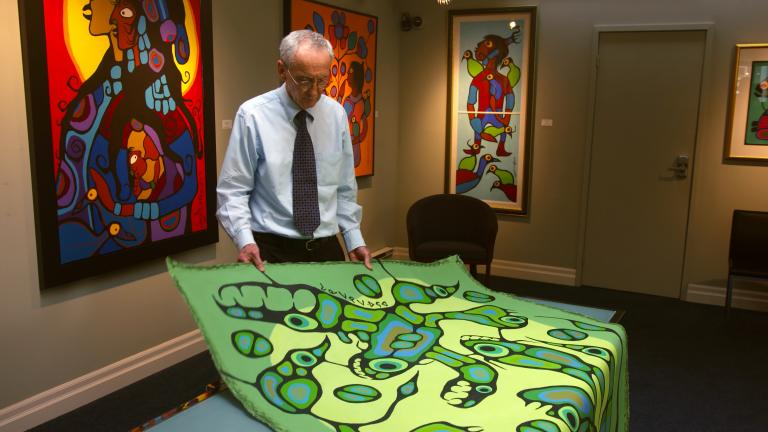 Spirit Energy of Mother Earth by Norval Morrisseau