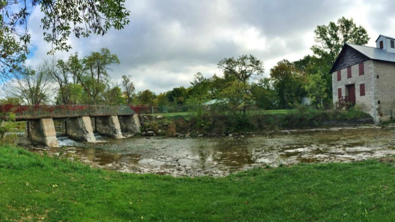 Babcock Mill Park in Odessa, Ontario