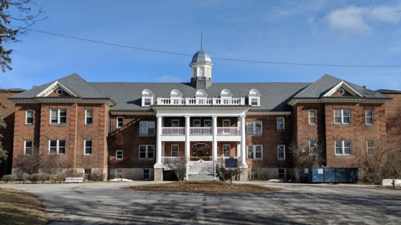 A former residential school in Brantford, Ontario