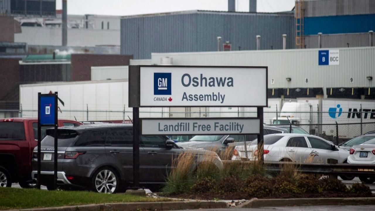 General Motors headquarters in Oshawa, Ontario