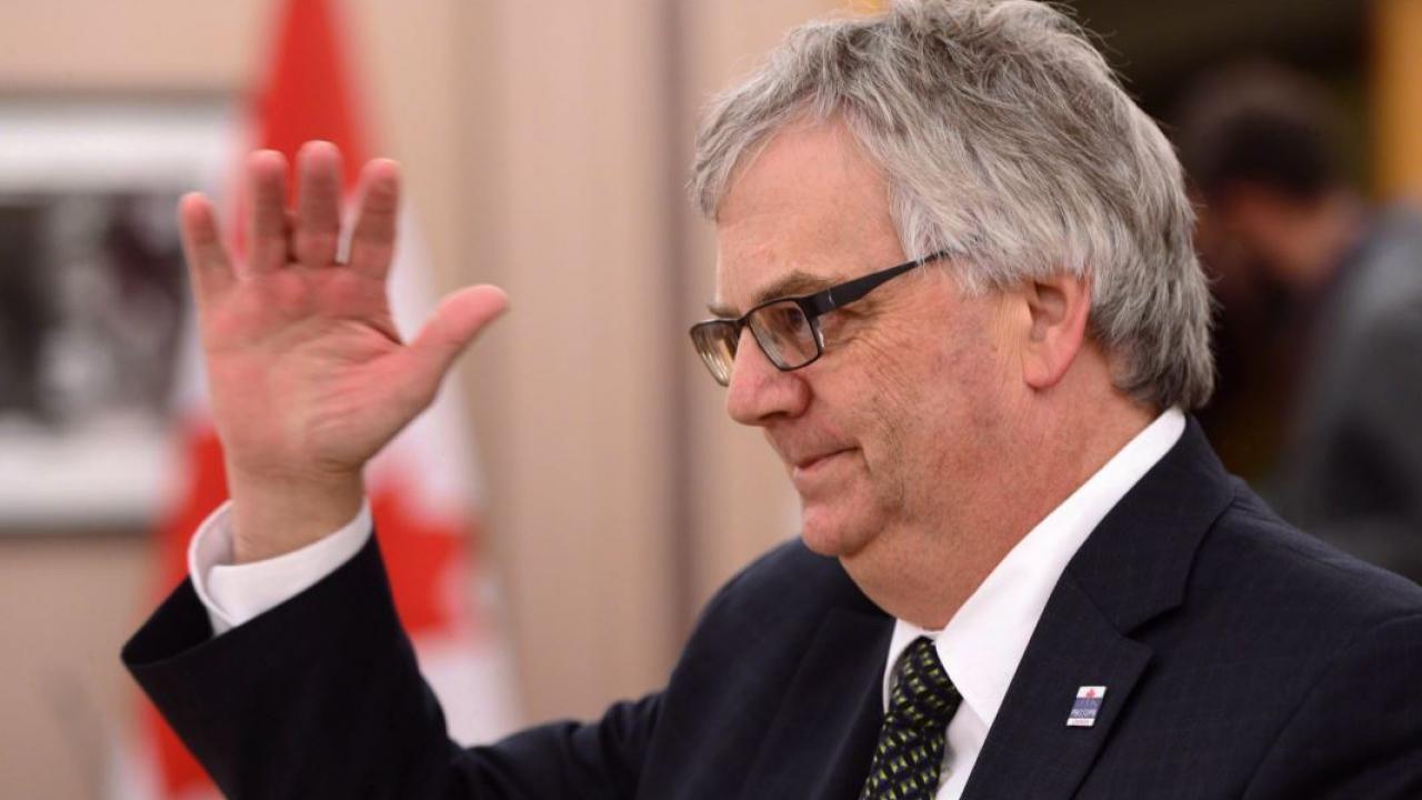 Ontario's parliamentary budget officer, Jean-Denis Fréchette