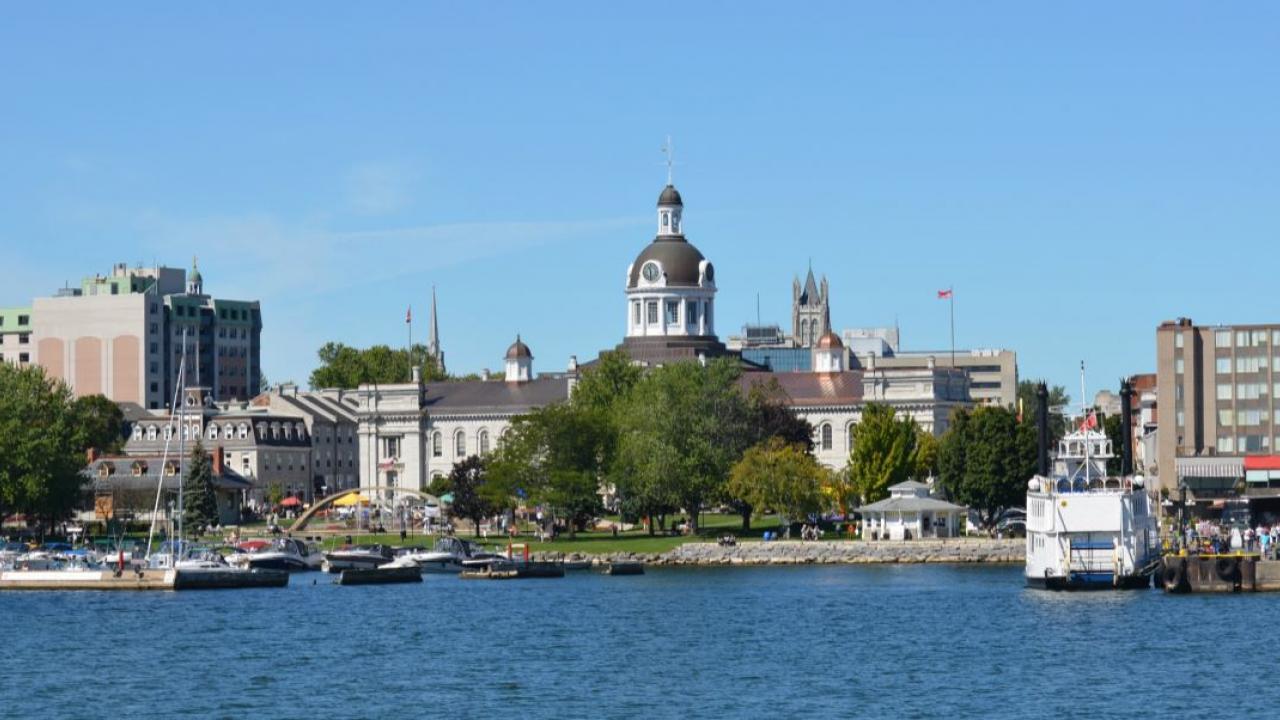 city view of Kingston, Ontario