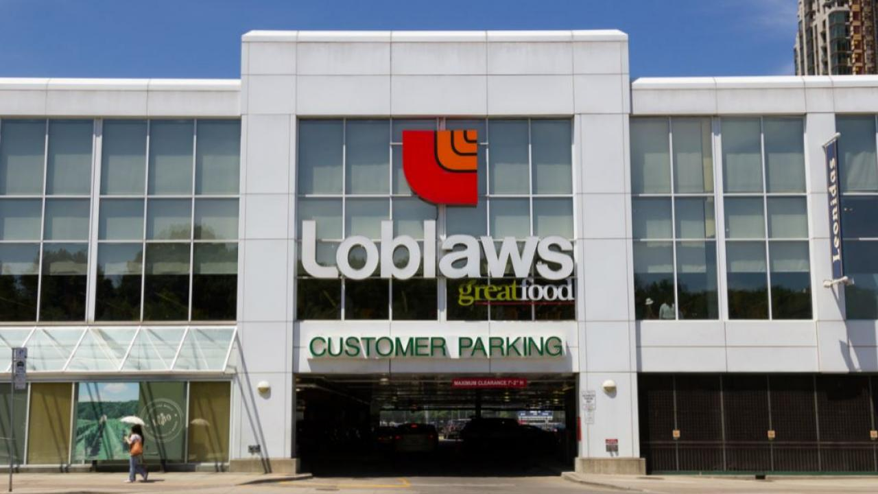 store front of Loblaws grocery