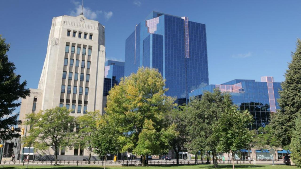 buildings in downtown London, Ontario
