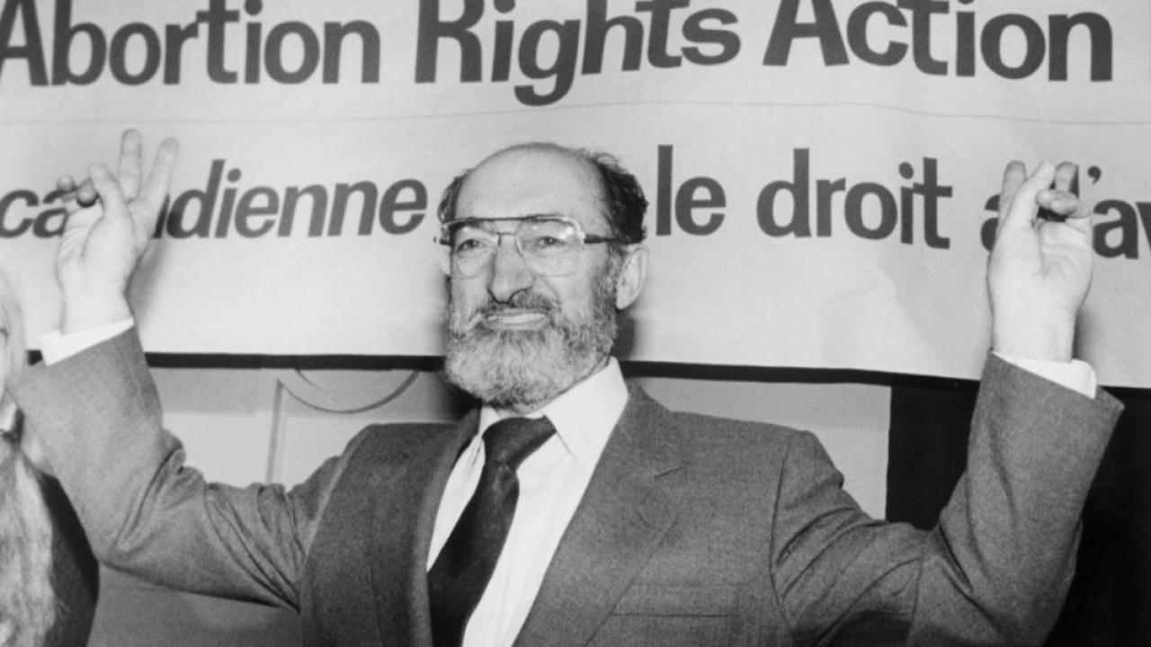Henry Morgentaler in 1993