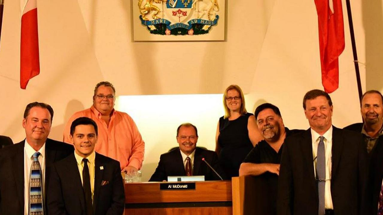 members of North Bay city council