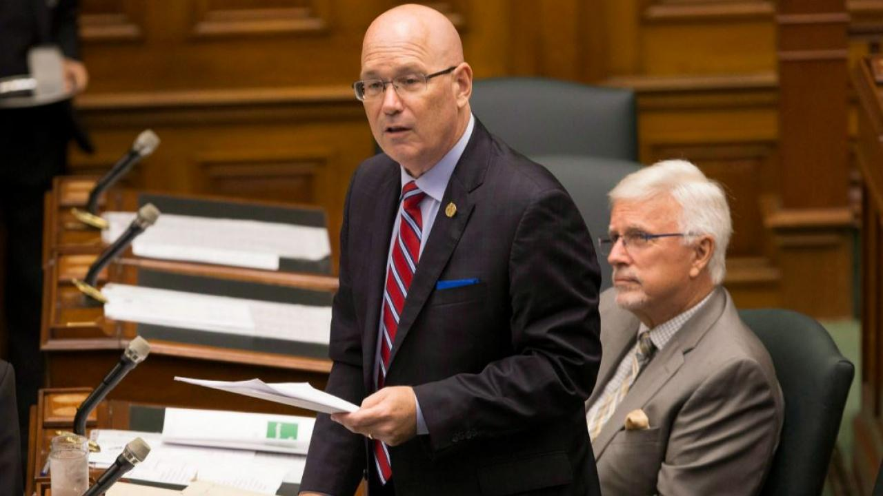 Steve Clark in the Ontario legislature