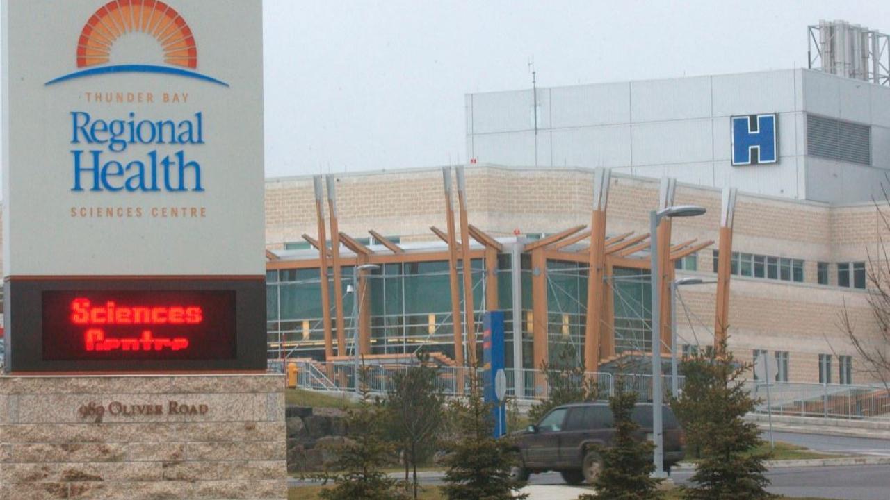 Thunder Bay hospital