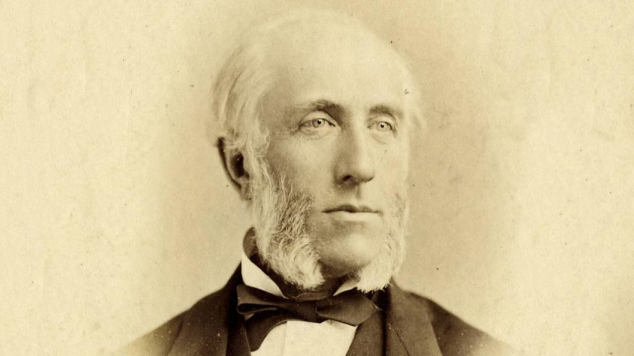 an archival photo of Ontario journalist and politician George Brown