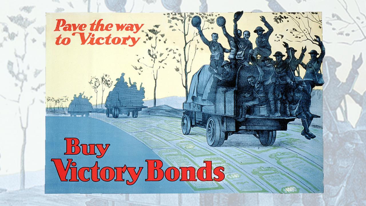 victory bond poster